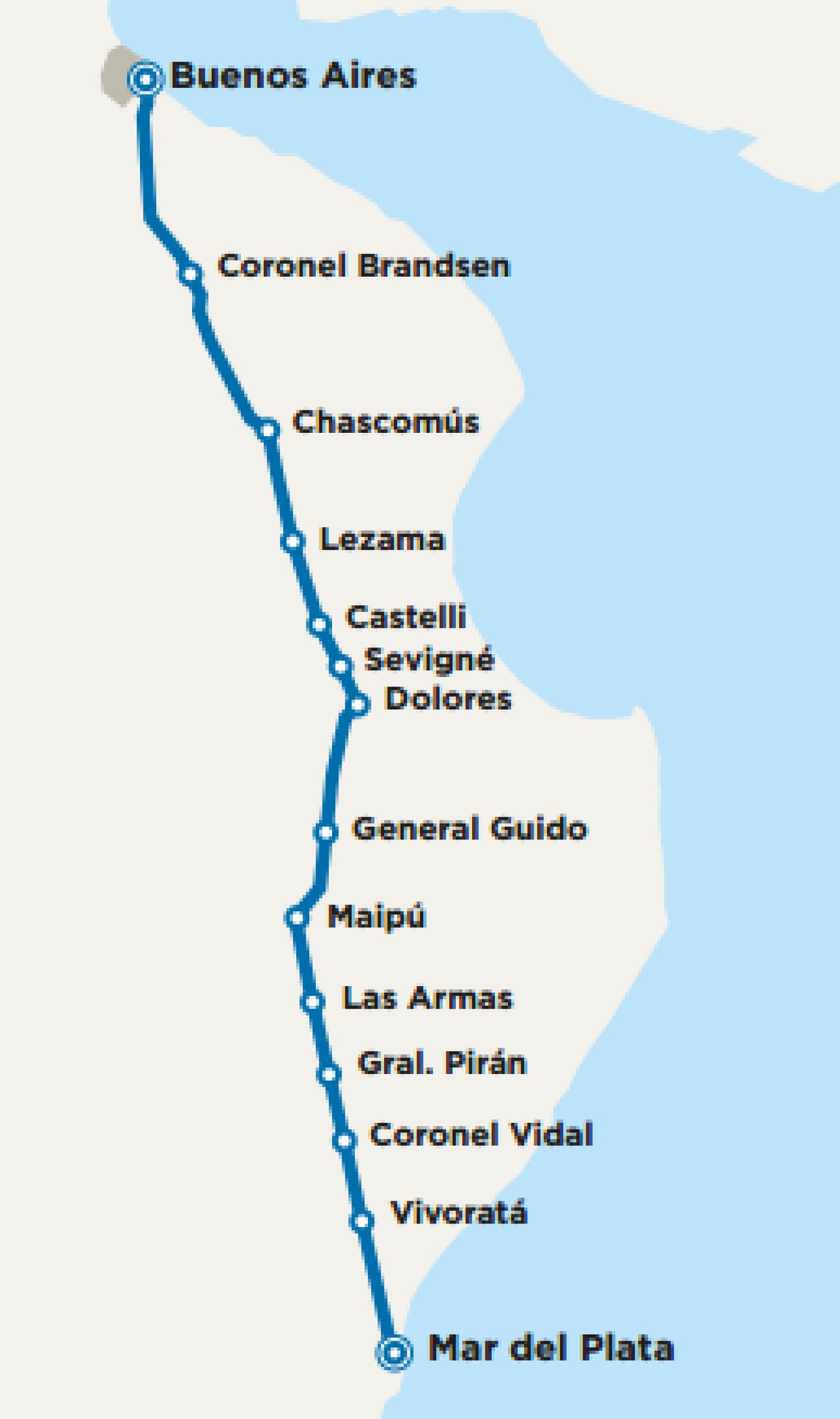 Vuelve El Tren De Buenos Aires A Mar Del Plata Todo Lo