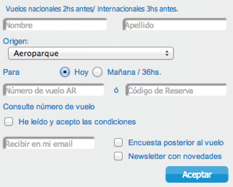 Online CheckIn