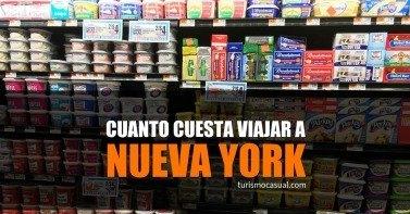 Cuánto cuesta Nueva York
