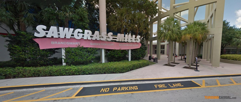 41a6dfab Puerta de entrada de Sawgrass Mills en Miami, el mall de outlets más grande  del mundo